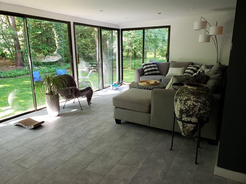 modern sunroom