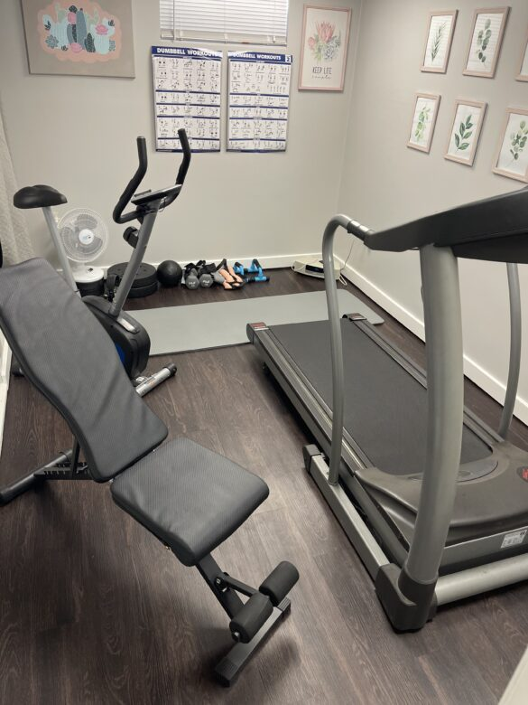 affordable home gym flooring
