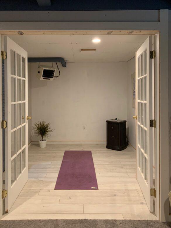 home yoga room