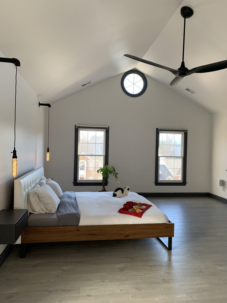 minimalist home tour bedroom