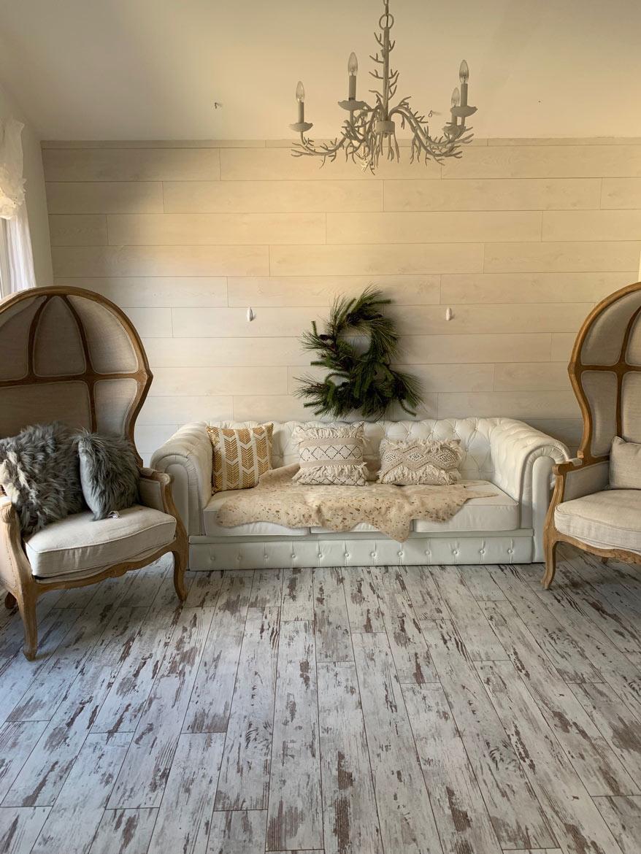 Shabby Chic Living Room Ideas With, Shabby Chic Laminate Flooring