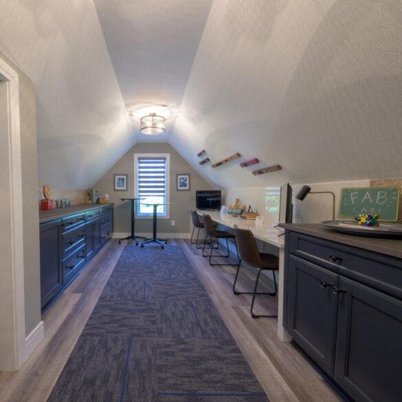 bonus room with coretec plus xl james river oak vinyl flooring