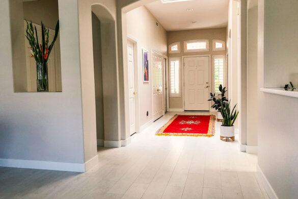 welcoming entryway