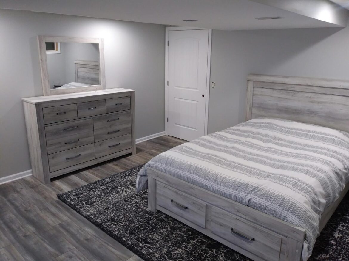 Guest Bedroom - Rustic & Modern Design for Guests