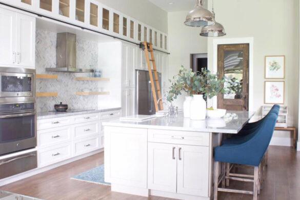 Kitchen Ladder With Bestlaminate Livanti Woodridge Northern Oak Vinyl Flooring bl-000614