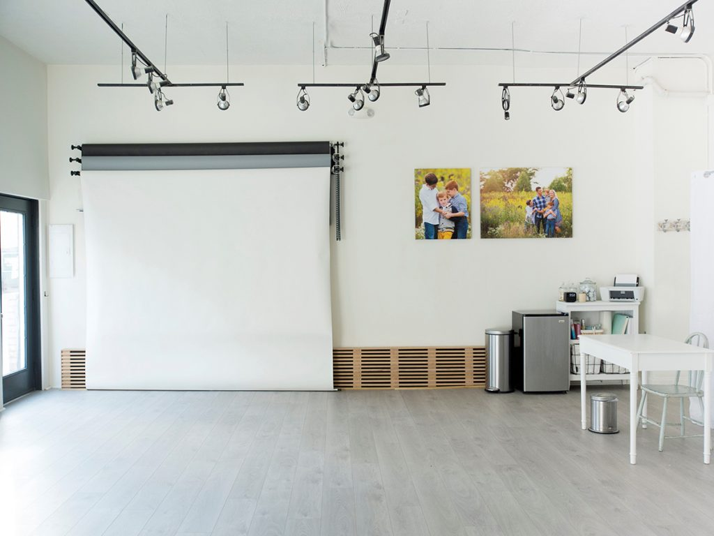 Laminate Flooring in Commercial Spaces - Amy Triple Photography Studio