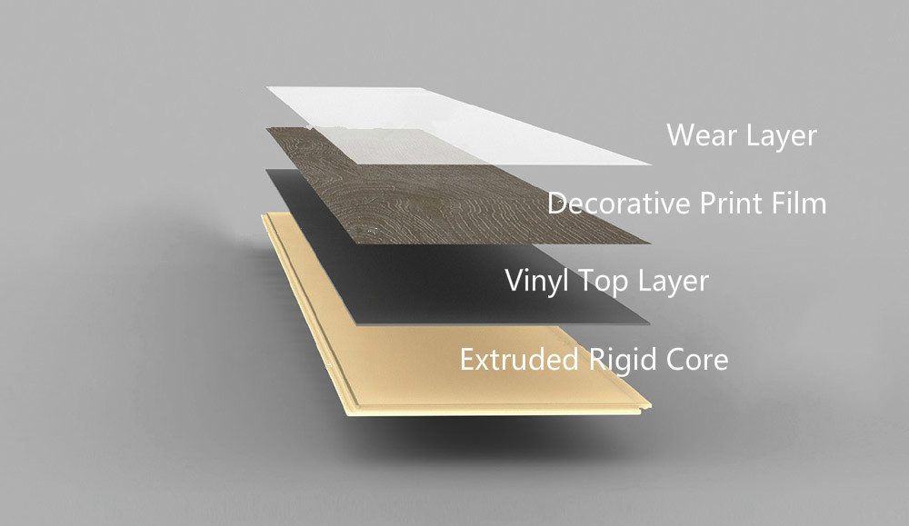 WPC Vinyl Flooring Construction