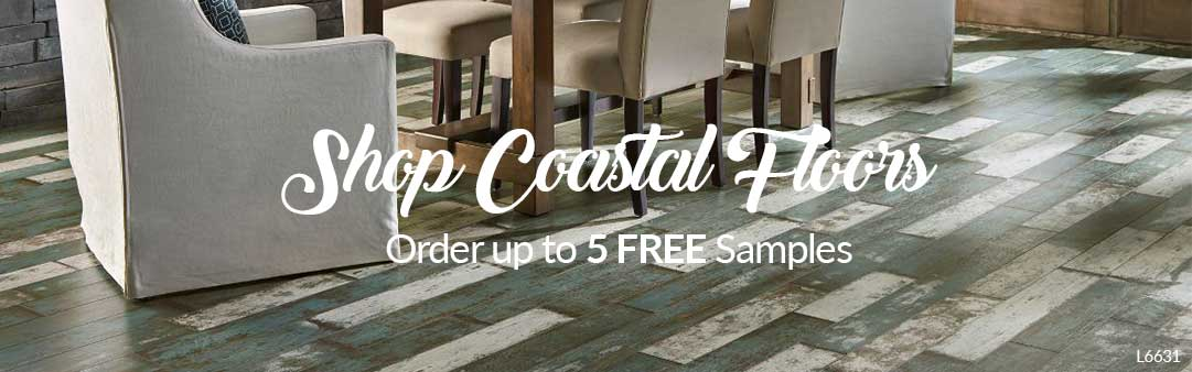 White Washed Laminate Flooring Coastal Decor