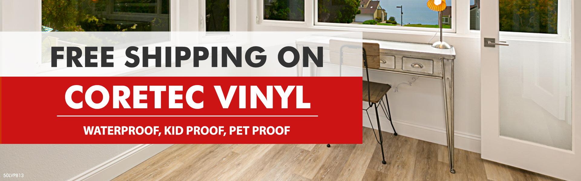 Coretec One Engineered Luxury Vinyl Flooring