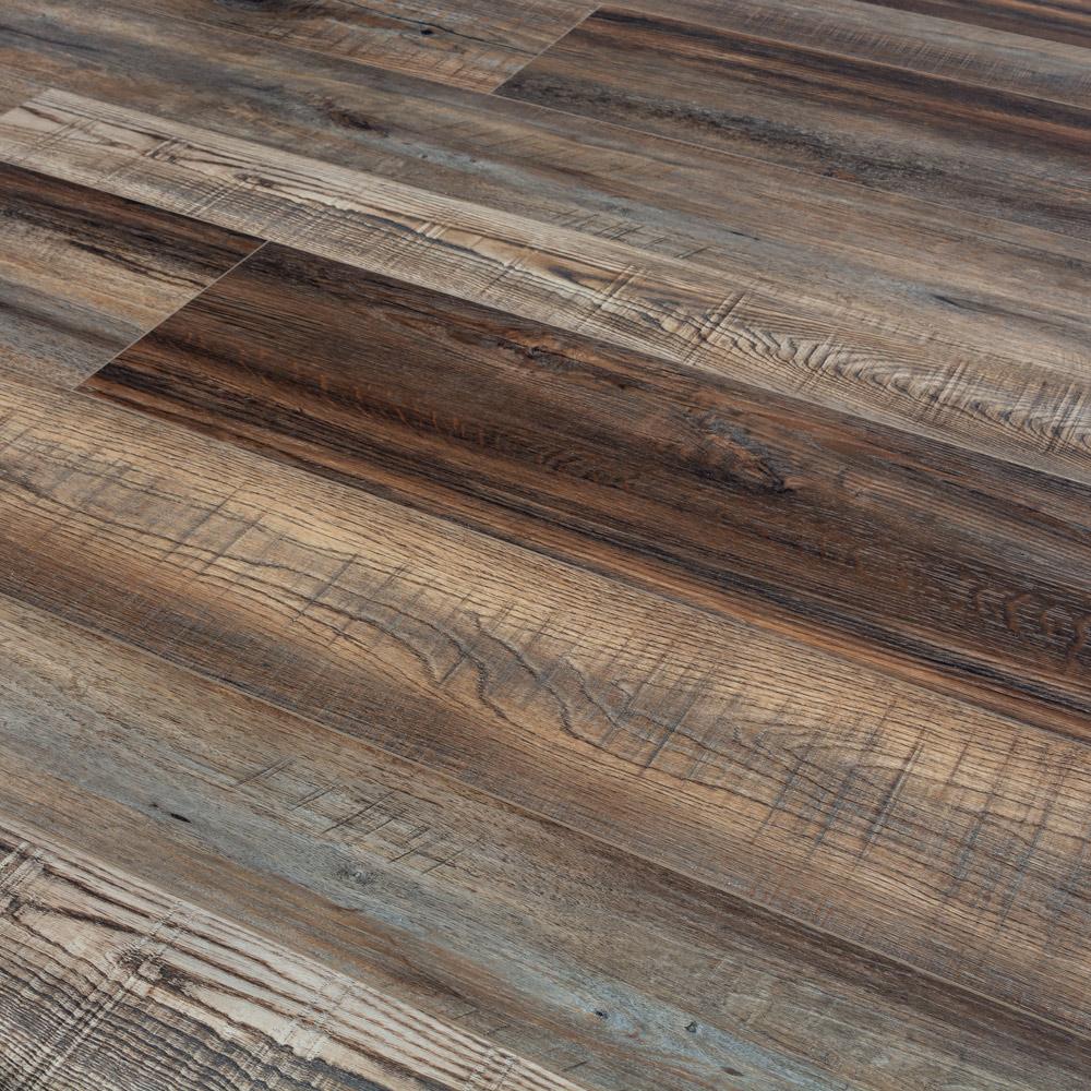 Timeless Designs Everlasting II Vintage Oak Multi Width SPC Vinyl Flooring  EVERLVIOAMUL